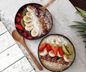 banana, coconut, and food image