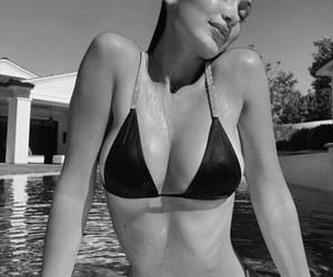 bella hadid, bikini, and model image