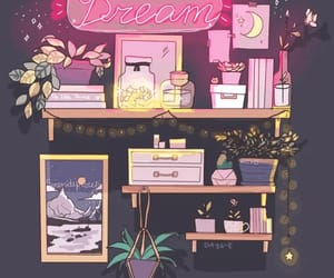 bedroom, Dream, and decoration image
