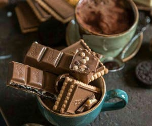 chocolate, cocoa, and dessert image