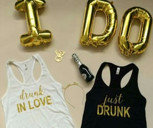 ring, tanks, and bridal shower image