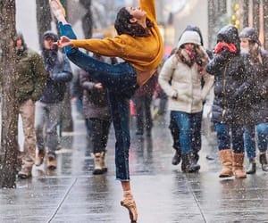 ballet, flexibility, and yoga image