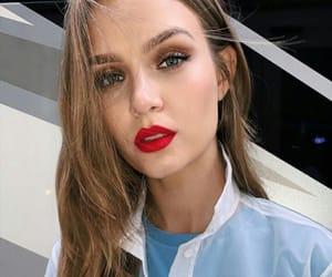 beauty, eyebrows, and josephine skriver image