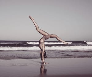 flexibility, handstand, and split image