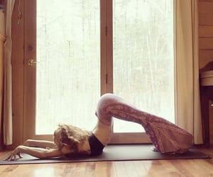 back, flexibility, and yoga image