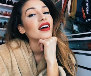 red lips and danielle peazer image