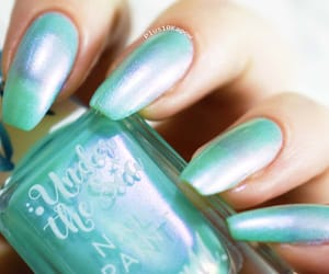barry m, mint, and nail polish image