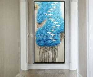 abstract, texture, and canvas painting image