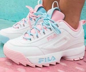 Fila, fresh, and sneakers image