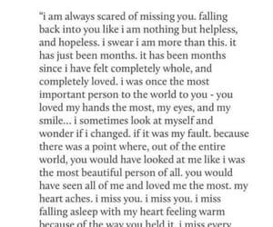 broken, heartbroken, and longing image