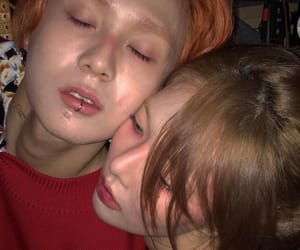 hyuna, edawn, and couple image
