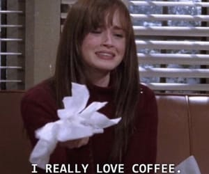 coffee, gilmore girls, and rory gilmore image
