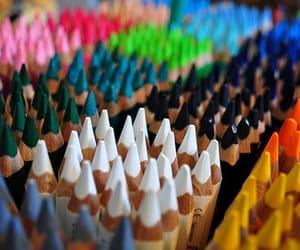 art, white, and multi color image