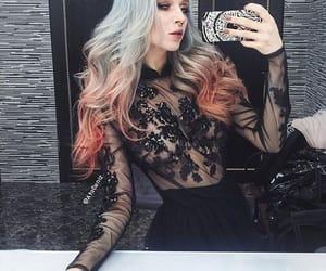 dress, hair, and septum image