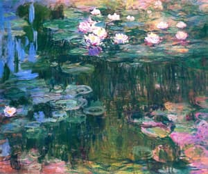 art, paint, and monet image