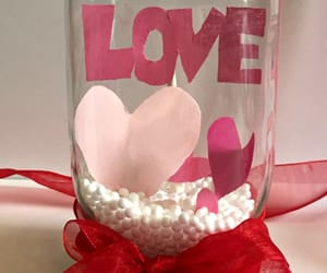 crafts, Valentine's Day, and snow globe image