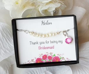 etsy, bridal bracelet, and personalized gift image