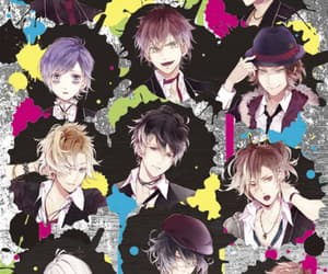 otome game, diabolik lovers, and dark fate image