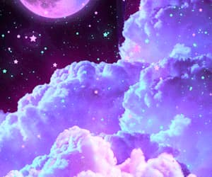 aesthetic, fantasy, and purple image