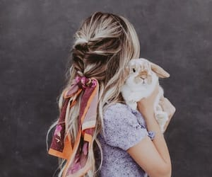 hair, bunny, and fashion image