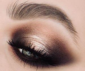 bold, eyeshadow, and makeup image