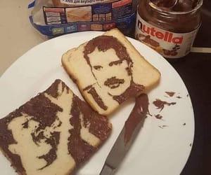 arte, nutella, and bread image
