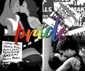 blue, lesbian, and pride image