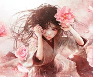 artistic, chinese, and woman image