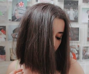 girl, hair, and short hair image