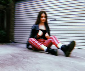 blurry, grunge, and fashion image