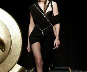 beauty, girl, and Versace image