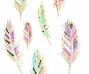 feather and cute image