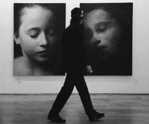 art, artist, and black image