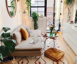 apartment, home, and living room image