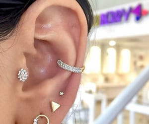 diamonds, jewelry, and lobe image