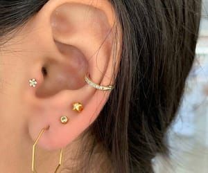 jewelry and ear piercing image