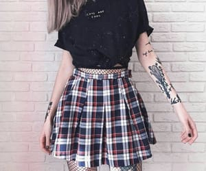 alternative, outfit, and fashion image