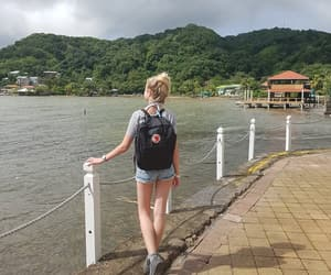 backpack, Caribbean, and holidays image