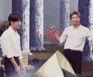 gif, seokjin, and jin image