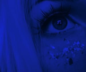 blue, aesthetic, and eyes image