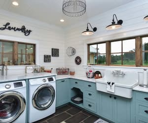 laundry room, laundry room designs, and laundry room design ideas image
