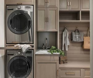laundry room, laundry room designs, and small laundry room image