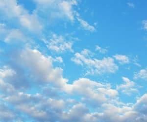 blue, cielo, and nature image