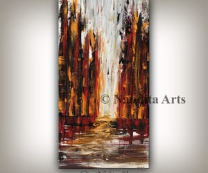 abstract, cityscape art, and skyline artwork image