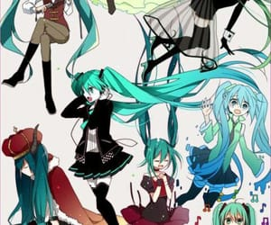 hatsune miku and vocaloid image