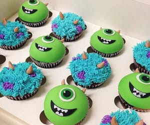 cupcakes, mickey, and sully image