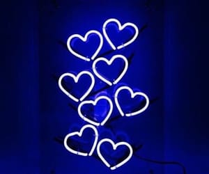 blue hearts, adventure, and beautiful image