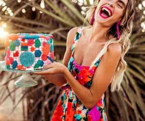 birthday, dress, and cake image