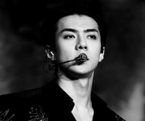 exo, sehun, and rapper image