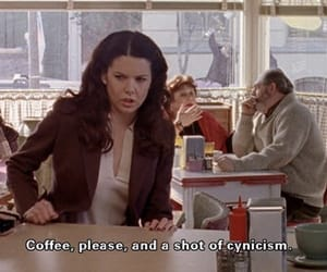 coffee, gilmore girls, and quotes image